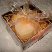 Мыло ручной работы Орхидея в подарочной коробочке