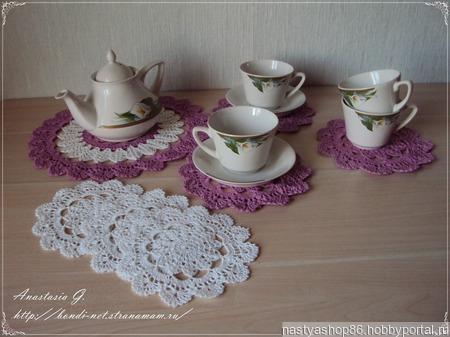 Сервировочный чайный набор ручной работы на заказ