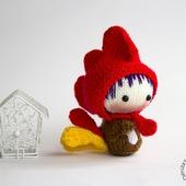 """Мастер класс """"Маленькая куколка Петушок из серии Tanoshi"""""""