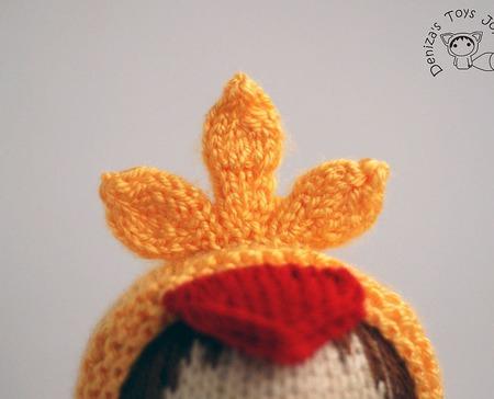 """Мастер-класс """"Маленькая куколка Цыпленок из серии Tanoshi"""" ручной работы на заказ"""