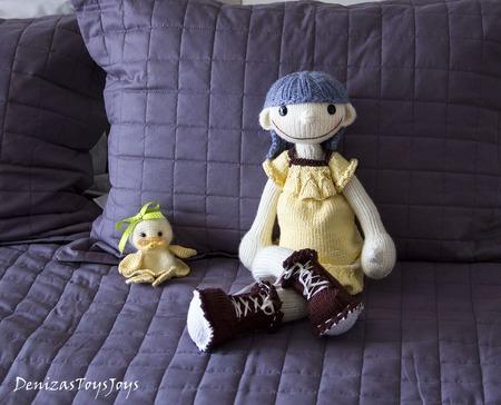 """Мастер-класс """"Кукла Светлячок """" ручной работы на заказ"""