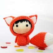"""Мастер-класс """"Маленькая куколка Огненная Лисичка из серии Tanoshi"""""""
