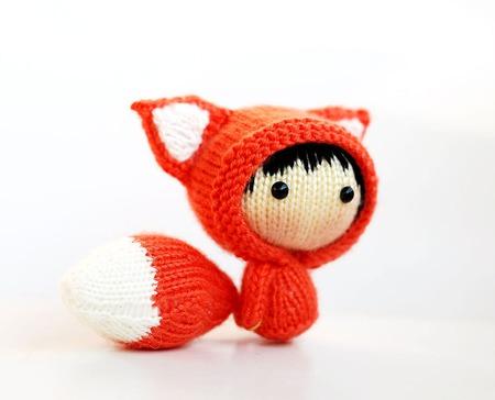 """Мастер-класс """"Маленькая куколка Огненная Лисичка из серии Tanoshi"""" ручной работы на заказ"""