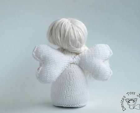 """Мастер-класс """"Белый Зимний Ангел."""" ручной работы на заказ"""
