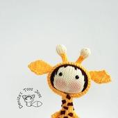 """Мастер-класс """"Маленькая куколка Жираф из серии Tanoshi"""""""