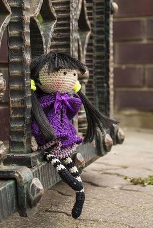 "Крючковый Мастер-класс ""Куколка «Аяме»-цветок Ириса"" ручной работы на заказ"