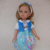 Кукла Paola Reina и три комплекта одежды