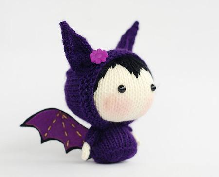 """Мастер-класс """"Маленькая куколка Летучая Мышь из серии Tanoshi"""" ручной работы на заказ"""