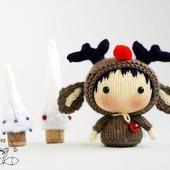 """Мастер-класс """"Маленькая куколка Северный Оленёнок из серии Tanoshi"""""""