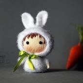"""Мастер-класс """"Маленькая куколка Белая Зайка из серии Tanoshi"""""""