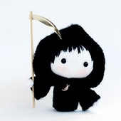 "Мастер-класс ""Куколка в костюме Смерти из серии Tanoshi"""