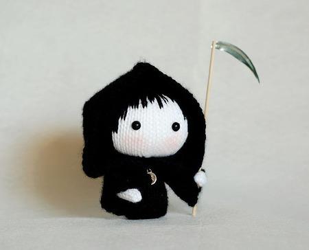 """Мастер-класс """"Куколка в костюме Смерти из серии Tanoshi"""" ручной работы на заказ"""