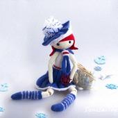 """Мастер-класс """" Марина. Шарнирная Кукла"""""""