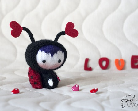 """Мастер-класс """"Куколка Влюблённая Божья Коровка из серии Tanoshi"""" ручной работы на заказ"""