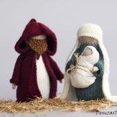 """Мастер-класс """"Рождество. Мария, Иосиф и младенец"""""""