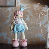 """Мастер-класс """" Кукла Застенчивая Принцесса."""""""