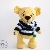 """Мастер-класс """"Мишка Yellow Teddy Bear """""""
