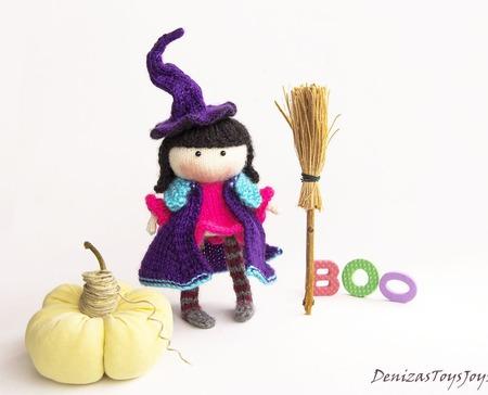 """Мастер-класс """"Куколка Ведьмочка """" ручной работы на заказ"""