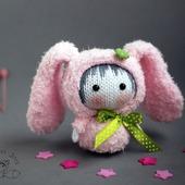"""Мастер-класс """"Маленькая куколка Розовая Зайка из серии Tanoshi"""""""
