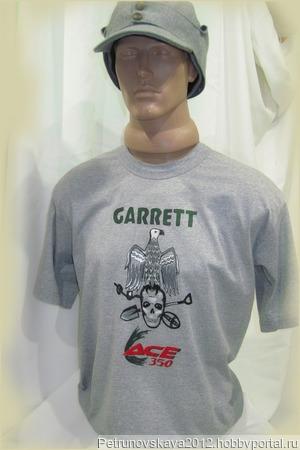 "Футболка ""Garrett"" ручной работы на заказ"