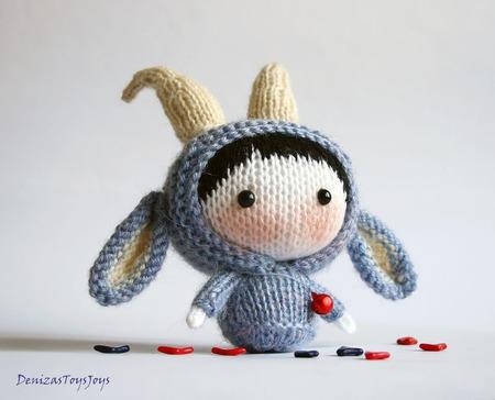 """Мастер-класс """"Маленькая куколка Козлик из серии Tanoshi"""" ручной работы на заказ"""