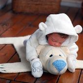 """Мастер-класс """"Детский коврик для новорожденного малыша Шкура Медведя"""""""
