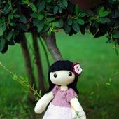 """Мастер-класс """" Энни. Кукла с большими ногами и руками. """""""