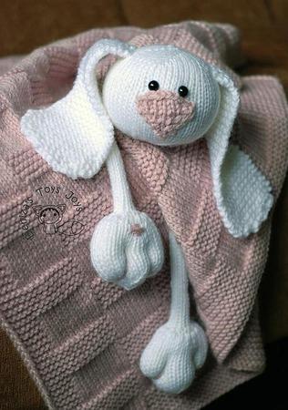"""Мастер-класс """"Детское одеяло с Ласковым Зайчиком"""" ручной работы на заказ"""