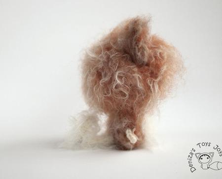 """Мастер-класс """"Маленькая куколка Собачка Шпиц из серии Tanoshi """" ручной работы на заказ"""