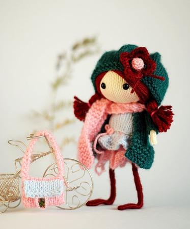"Мастер-класс ""Кукла Зимняя Ягода "" ручной работы на заказ"