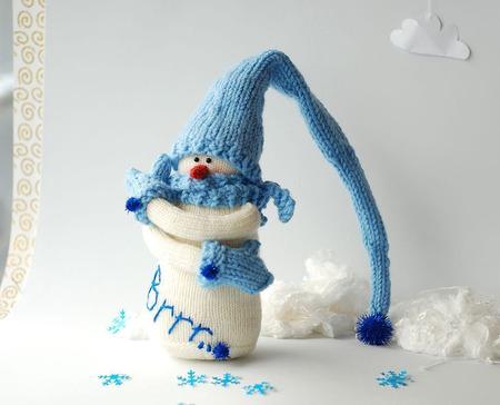 """Мастер-класс """"Снеговик Brrr...."""" ручной работы на заказ"""