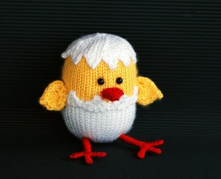 """Мастер-класс """"Цыпленок, вылупившийся из яйца. Подготовка к пасхе"""" ручной работы на заказ"""