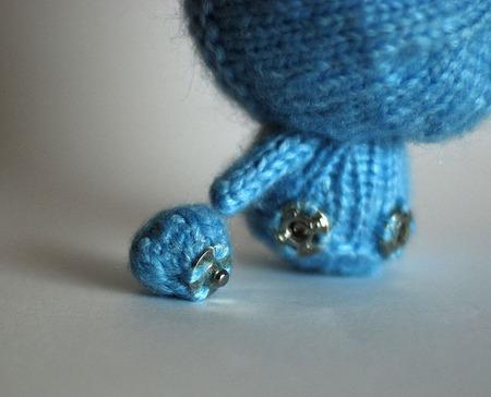 """Мастер-класс """"Маленькая куколка Голубой Зайка из серии Tanoshi"""" ручной работы на заказ"""