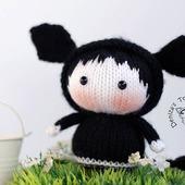 "Мастер-класс ""Маленькая куколка коровка Лекси из серии Tanoshi"""