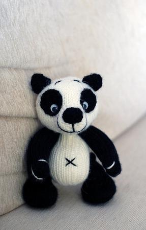 "Мастер-класс ""Панда"" ручной работы на заказ"