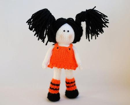 """Мастер класс """" Хэллоуин. Ведьмочка, черный кот и тыква"""" ручной работы на заказ"""