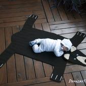 """Мастер-класс """"Детский коврик для новорожденного малыша Шкура Медведя3"""""""