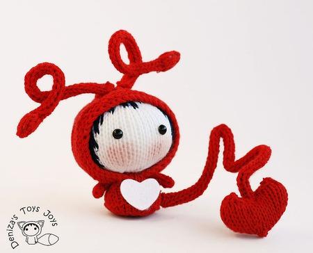 """Мастер-класс """"Маленькая куколка Влюблённое Насекомое из серии Tanoshi"""" ручной работы на заказ"""