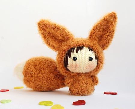 """Мастер-класс """"Маленькая куколка Лисичка Фенёк из серии Tanoshi."""" ручной работы на заказ"""