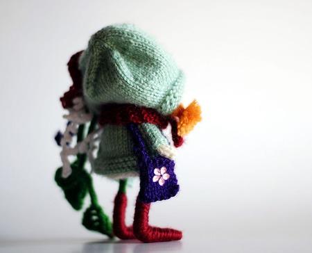 """Мастер-класс """"Флоретта. Куколка с ротиком и язычком. """" ручной работы на заказ"""