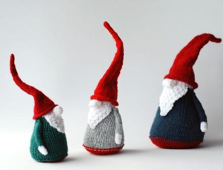 """Мастер-класс """"Три Рождественские Гнома"""" ручной работы на заказ"""