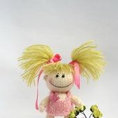 """Мастер-класс """"Маленькая смешная садовница в розовом платьице"""""""