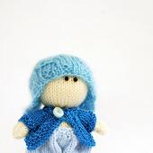 """Мастер-класс """"Маленький мальчик в голубой шапке"""""""