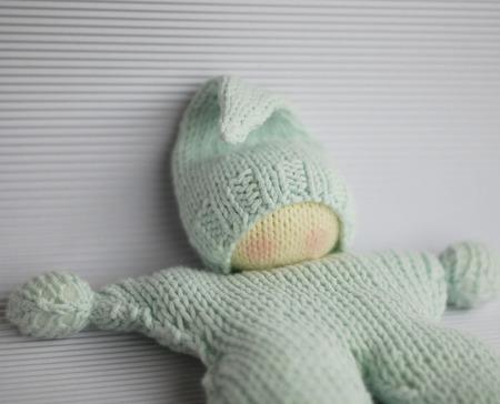 """Мастер-класс """"Вязаная Вальдорфская кукла бабочка"""" ручной работы на заказ"""