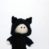 """Мастер-класс """"Маленький мальчик в костюме котенка"""""""