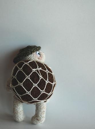 """Мастер-класс """"Черепаха путешественник со съемным панцирем-рюкзачком"""" ручной работы на заказ"""