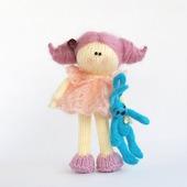 """Мастер-класс """"Ванильно-розовая куколка """""""