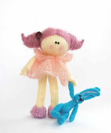 """Мастер-класс """"Ванильно-розовая куколка """" ручной работы на заказ"""
