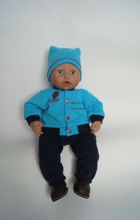 Комплект одежды для беби Анабель (Baby Annabell) 46 см ручной работы на заказ