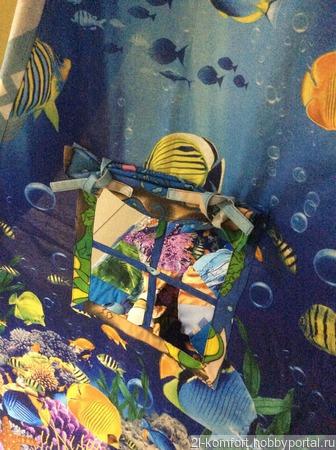 """Детский Вигвам, игровой комплект """"Подводное Царство"""". ручной работы на заказ"""